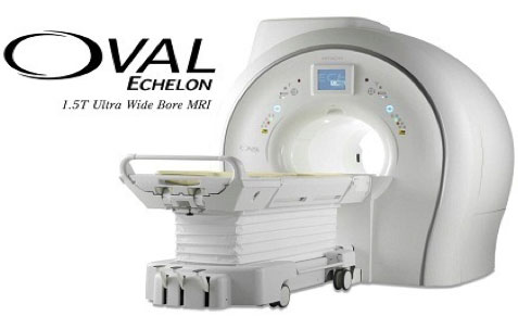 Oval MRI Machine