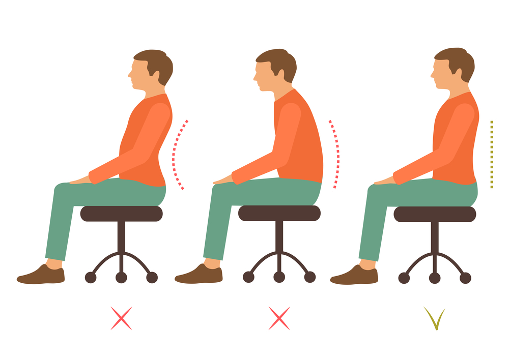 Central Orthopedic Group - Good Seated Posture