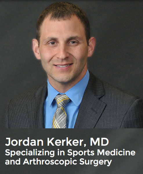 Dr. Jordan Kerker - Sports Orthopedist