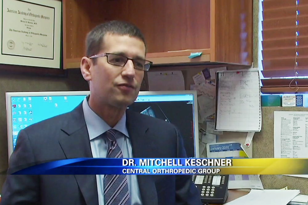 Dr. Mitchell Keschner of the Central Orthopedic Group